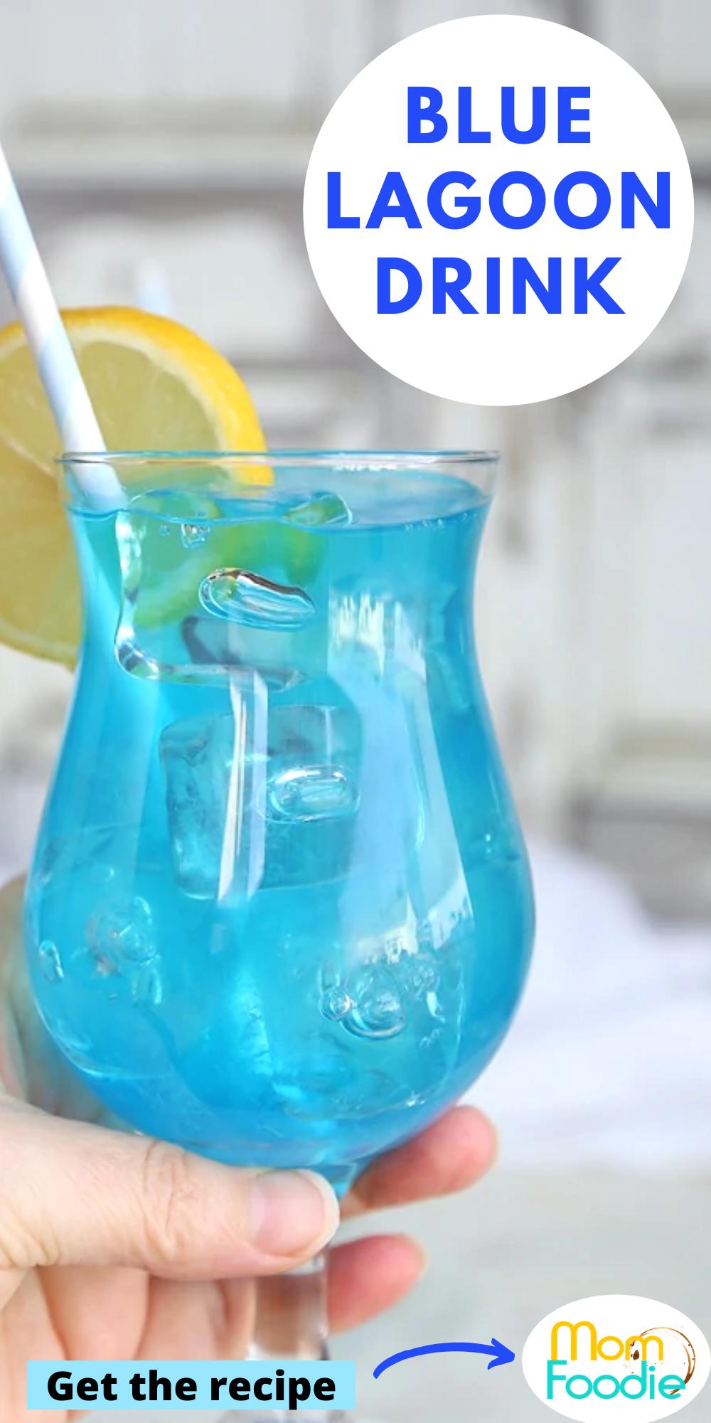 Blue Lagoon Cocktail In 2020 Blue Lagoon Cocktail Blue Alcoholic Drinks Blue Curacao Drinks