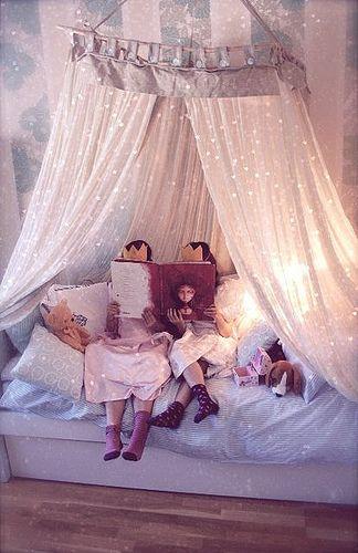 Betthimmel   Beleuchtet. KinderzimmerAnleitungenBaldachinRaumgestaltungPrinzessin  BettenPrinzessin ...