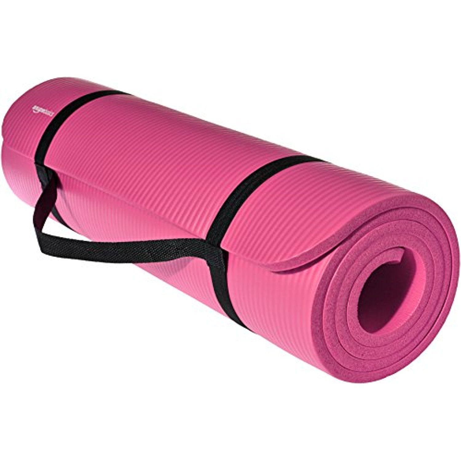 Amazonbasics 1 2 Inch Extra Thick Exercise Mat With Carrying Strap Continue To The Product At The Image Lin Thick Exercise Mat Thick Yoga Mats Yoga Mats Best