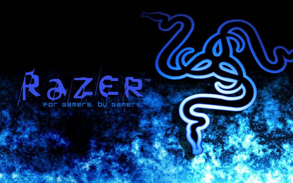 Razer Winter Blue By Razerarts On Deviantart In 2021 Razer Game Wallpaper Iphone Gaming Wallpaper