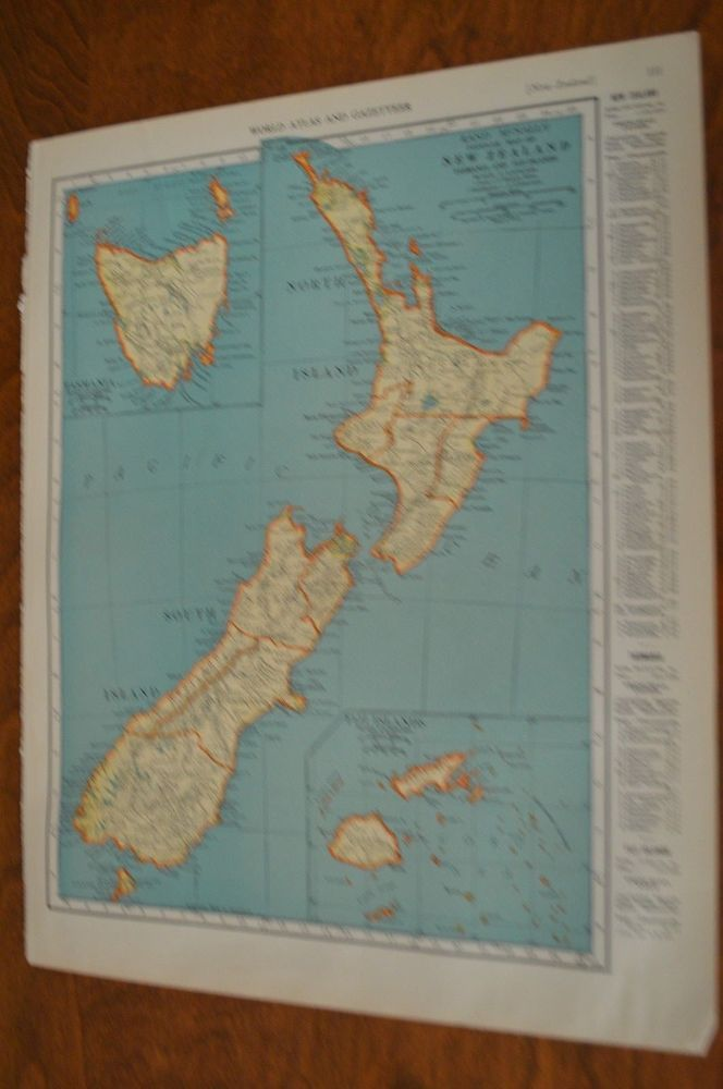 Netherlands Ns Map%0A      Map of New Zealand Tasmania and Fiji Islands  Solar System Map on  Reverse