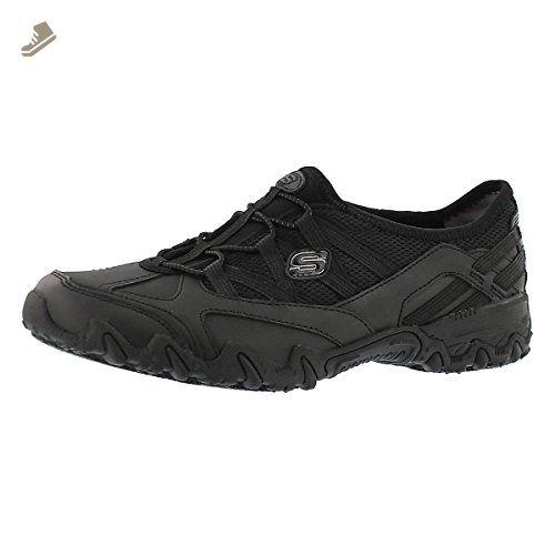 Skechers For Work Women S Compulsions Indulgent Work Shoe Black