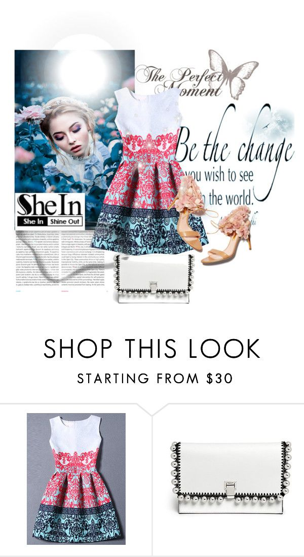 """""""love flowers"""" by you-da-one-66 ❤ liked on Polyvore featuring Oris, Rupert Sanderson and Proenza Schouler"""