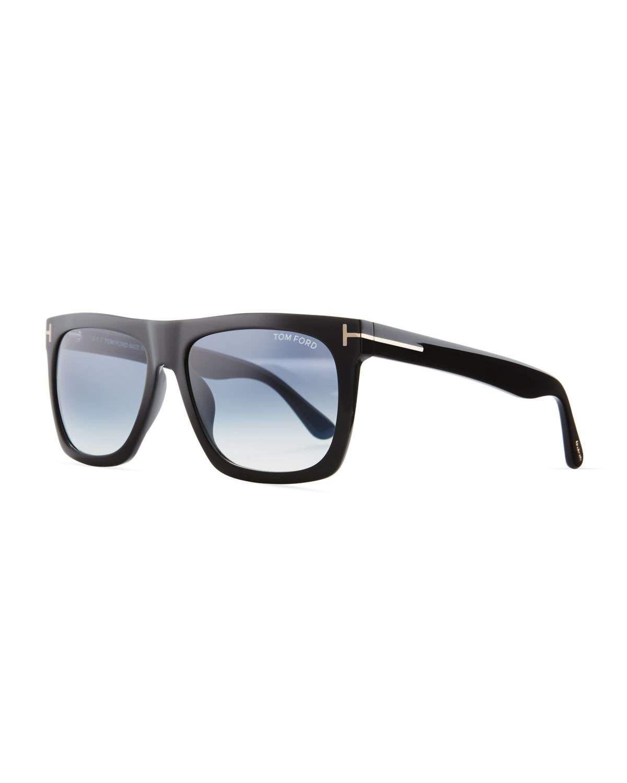 f46206d68b TOM FORD Morgan Thick Square Acetate Sunglasses