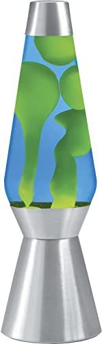 Buy Lava Original 27 Inch Silver Base Grande Lamp Yellow Wax Blue Liquid Online In 2020 Folding Laptop Table Black Comforter Sets Lamp