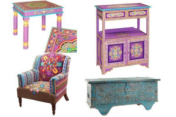 Decoraci n de la india ideas ex ticas para tu hogar - Muebles estilo indio ...