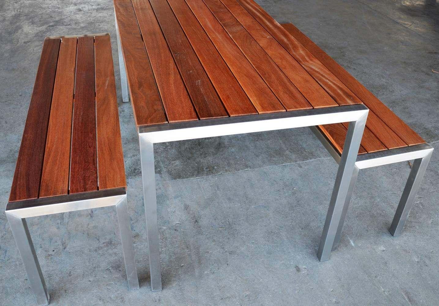 Gartenmobel Aus Tropenholz Von Betterwood Fsc 100 Industriedesign Mobel Gartengarnitur Holz Gartenmobel