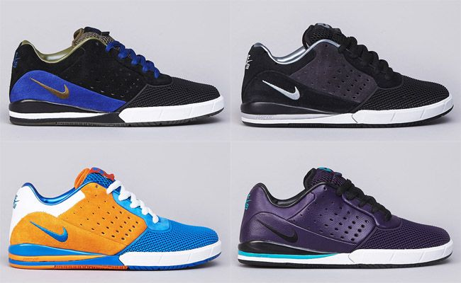 timeless design bee7d 82533 Nike SB Zoom Tre A.D.  4 Colorways