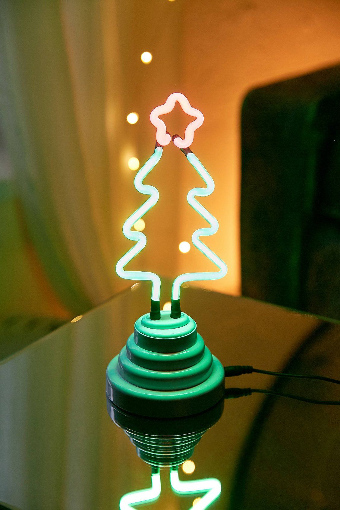 Christmas Tree Neon Sign Table Lamp Lamp Table Lamp Christmas Tree