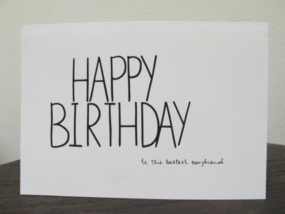 Happy Birthday For Him Tumblr ~ Happy birthday to the bestest boyfriend by pintofprints on etsy