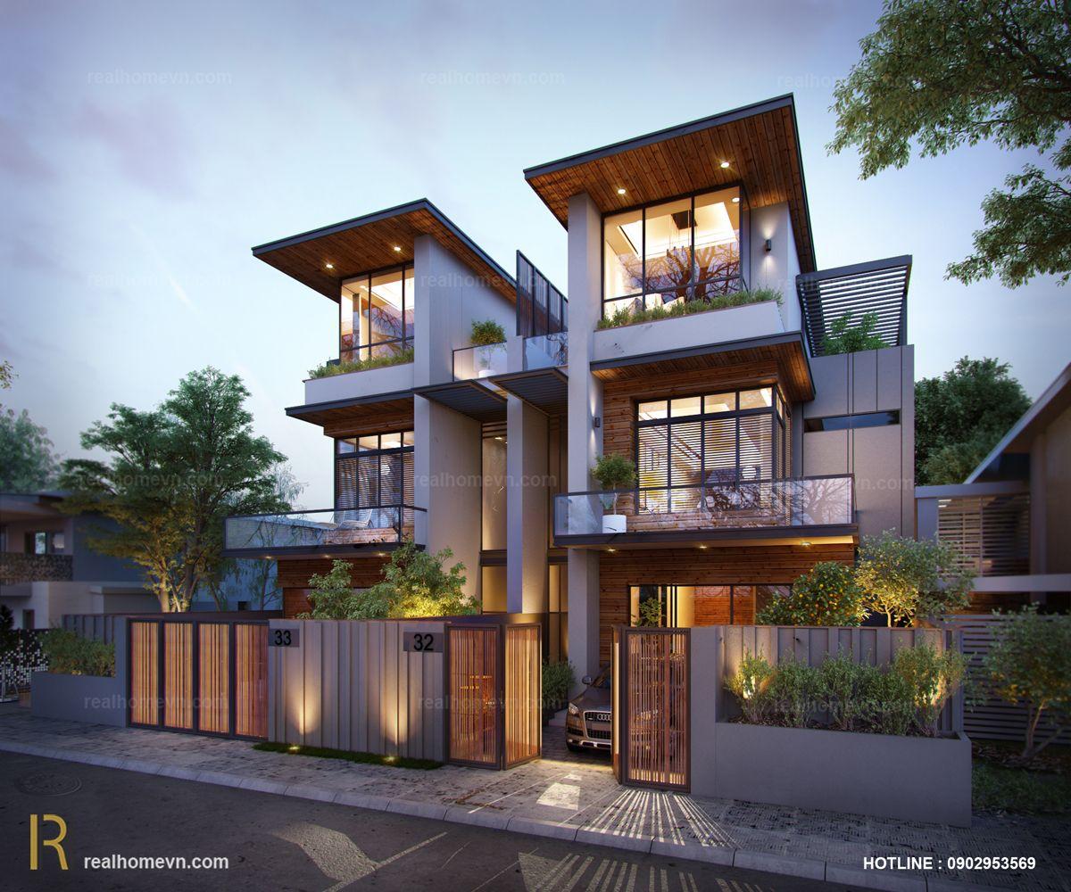 Modern Villa district 12, Ho Chi Minh City | Elevation | Pinterest ...
