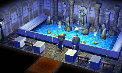 Room Inspiration Roman Greek Art Animal Crossing Astuce Animaux Fontaine De Trevi