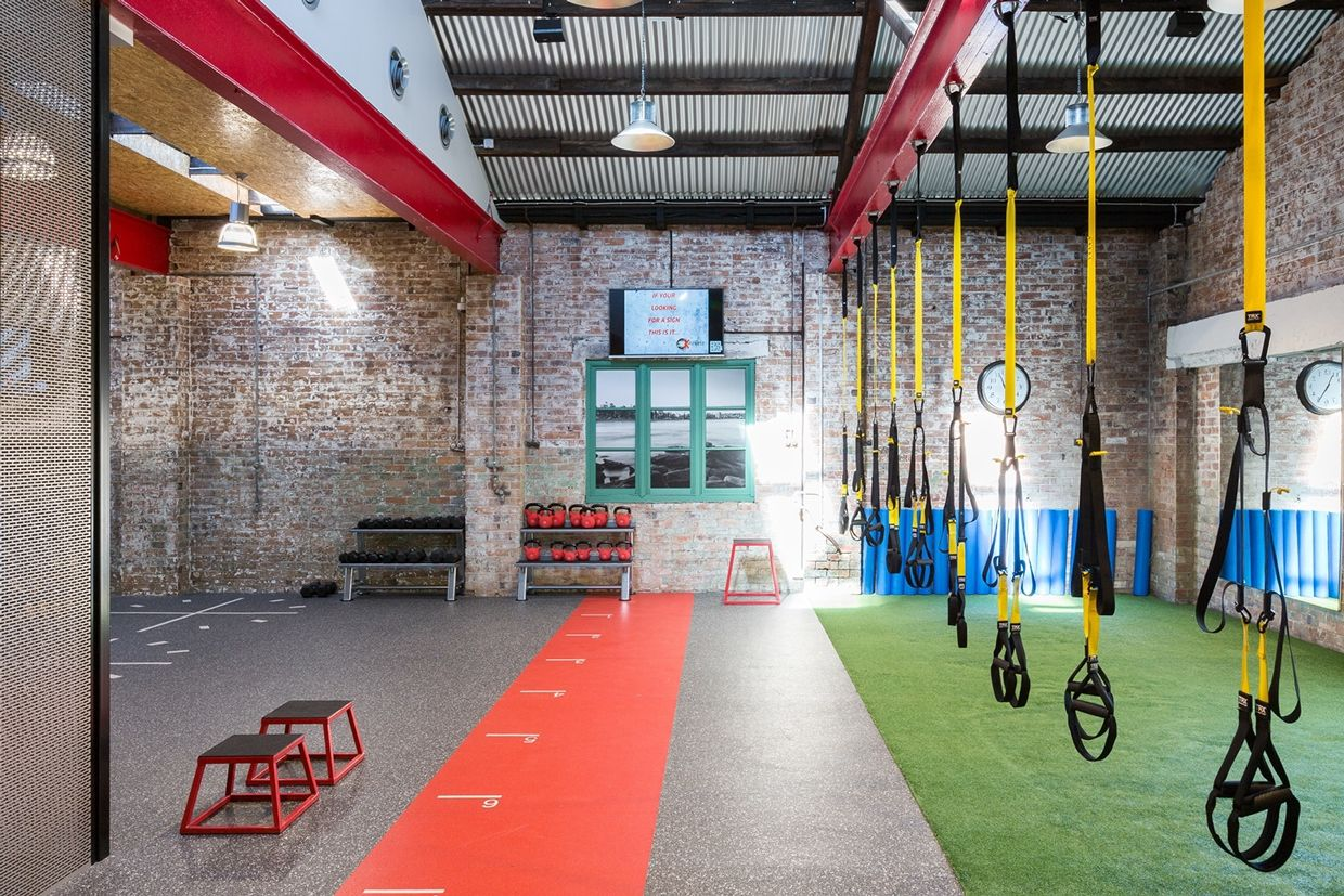 Gym manly design at home