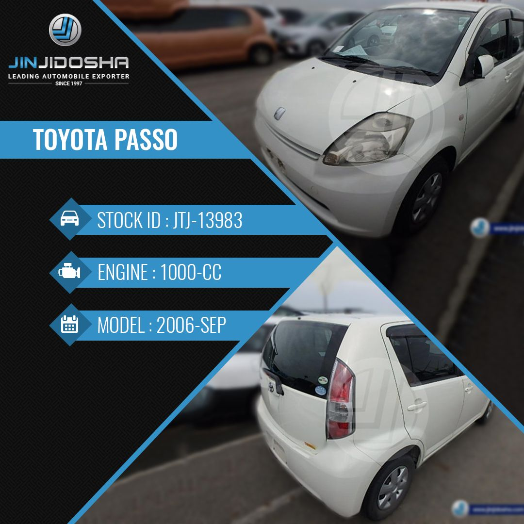 Your Toyota Passo in Stock Now Vehicle Detailshttps