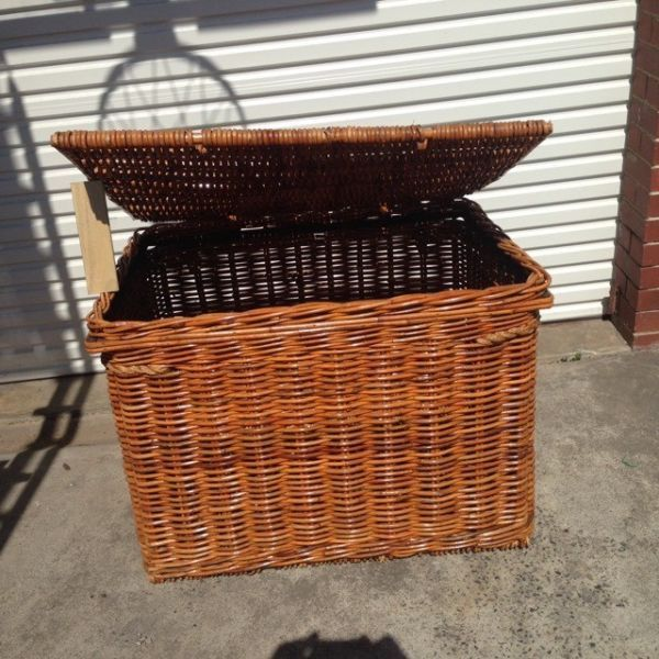 Wicker Storage Trunk | Other Furniture | Gumtree Australia Whitehorse Area - Box Hill | 1180700566 & Wicker Storage Trunk | Other Furniture | Gumtree Australia ...