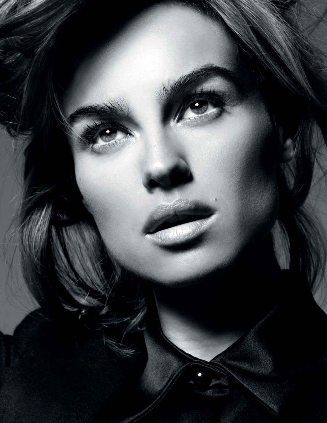 Kasia Smutniak | L'Officiel, Novembre 2012