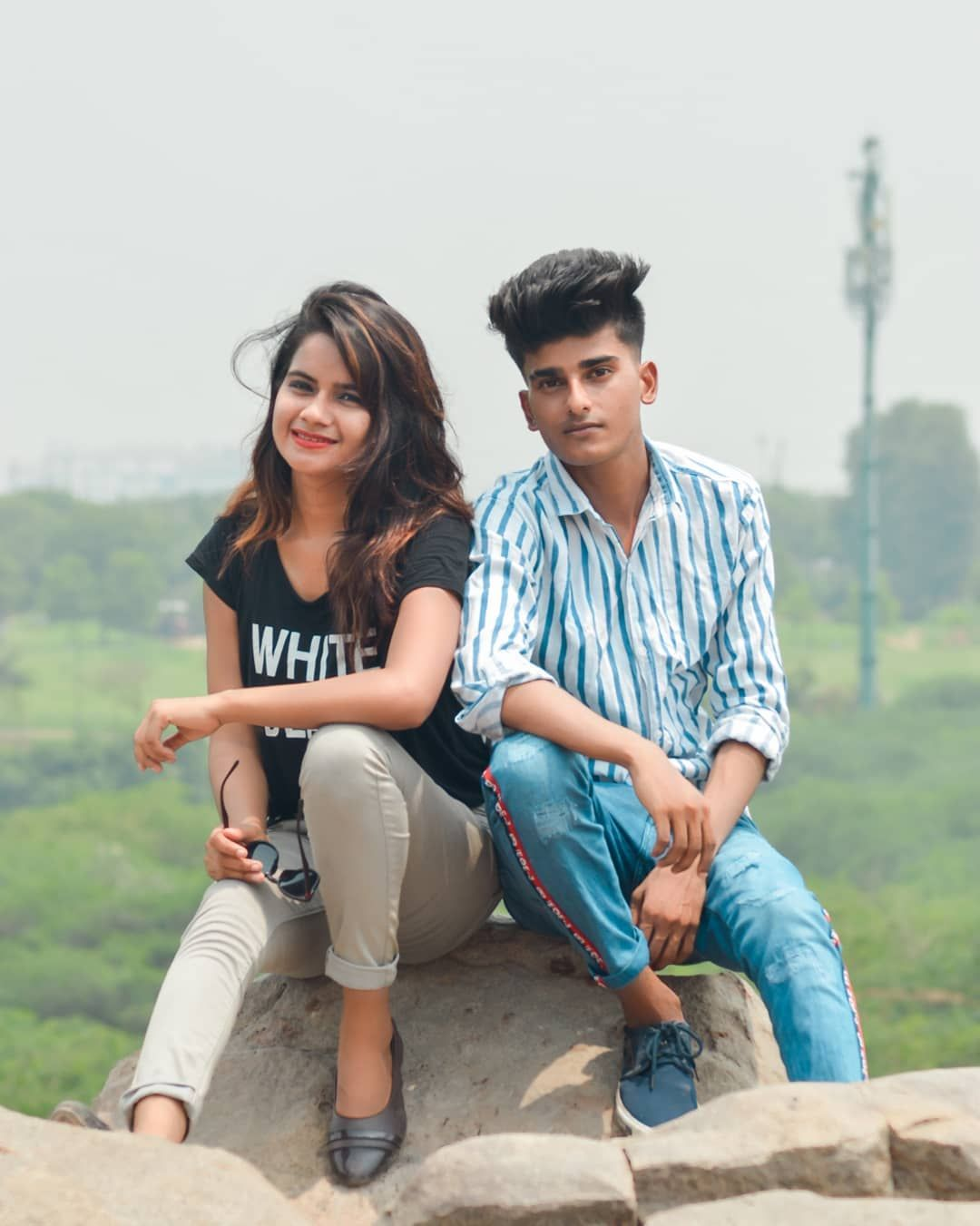 With Friend Friend Indian Boys And Girls 1 Love Fashionblogger Stylish Igers Model Likefor Boy Photography Poses Cute Boy Photo Fall Photoshoot