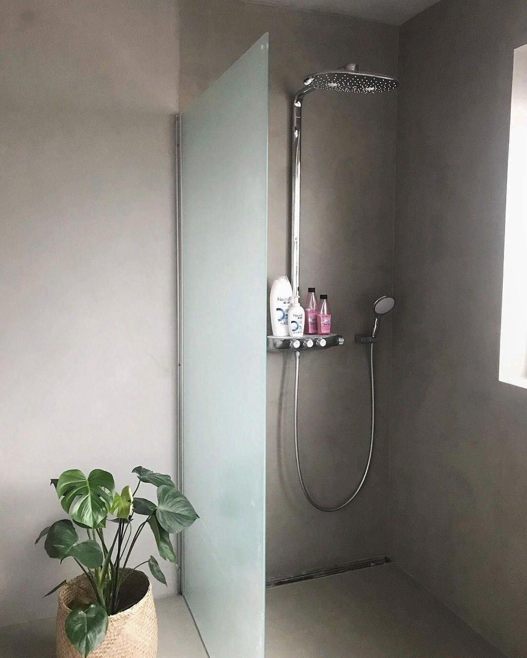 Do it yourself bathroom with a kabe stone shower in the color do it yourself bathroom with a kabe stone shower in the color concrete kabe stone is a do it yourself product that is suitable for wet zone areas solutioingenieria Gallery