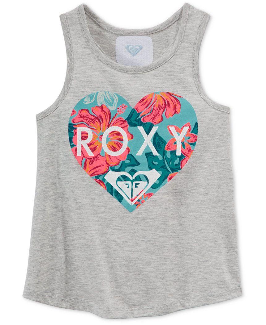ROXY Girls Little Magic Love Tank Top