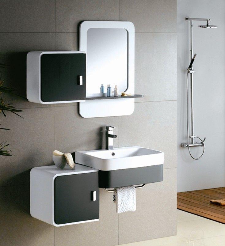 Designer Bathroom Cabinets Enchanting Modernwhitebathroomvanities  Home Decoration Ideas  Pinterest Inspiration Design