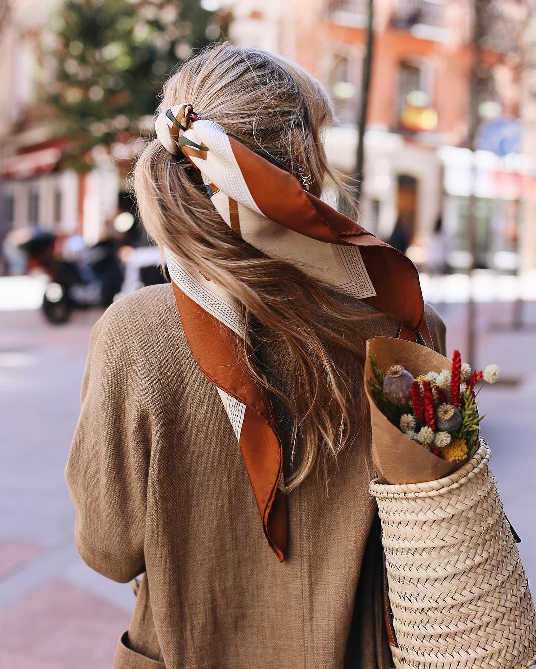 55 Scarf hairstyles ideas | scarf hairstyles, hair styles, hair beauty