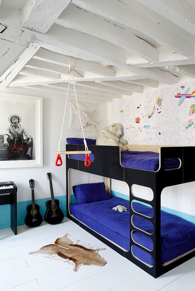 Modern Bunk Bed For A Shared Kids Room