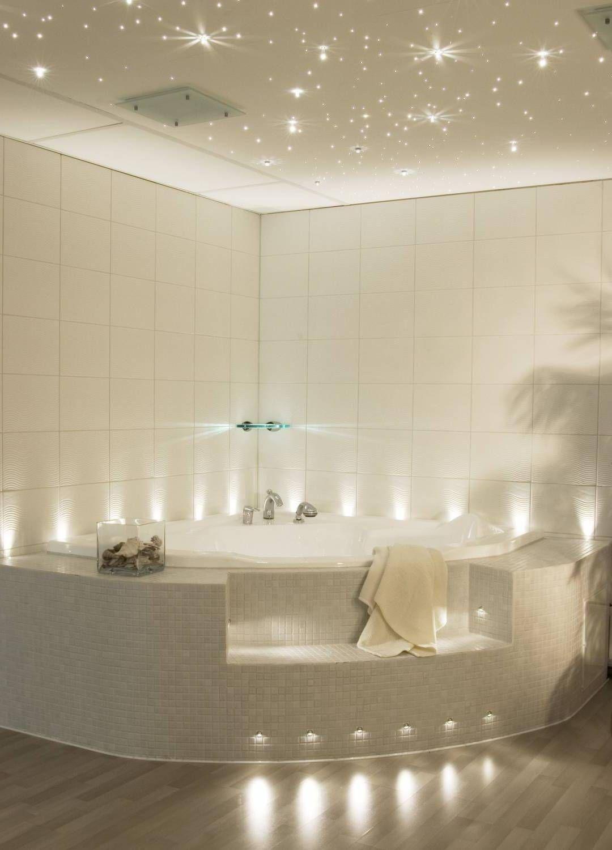 bathroom ceiling lighting ideas. Wonderful Bathroom Lighting Design In Ceiling Ad Beside Triangle Bathtub Corner And Wooden Floor Along With White Tile Wall Decor Ideas Light U