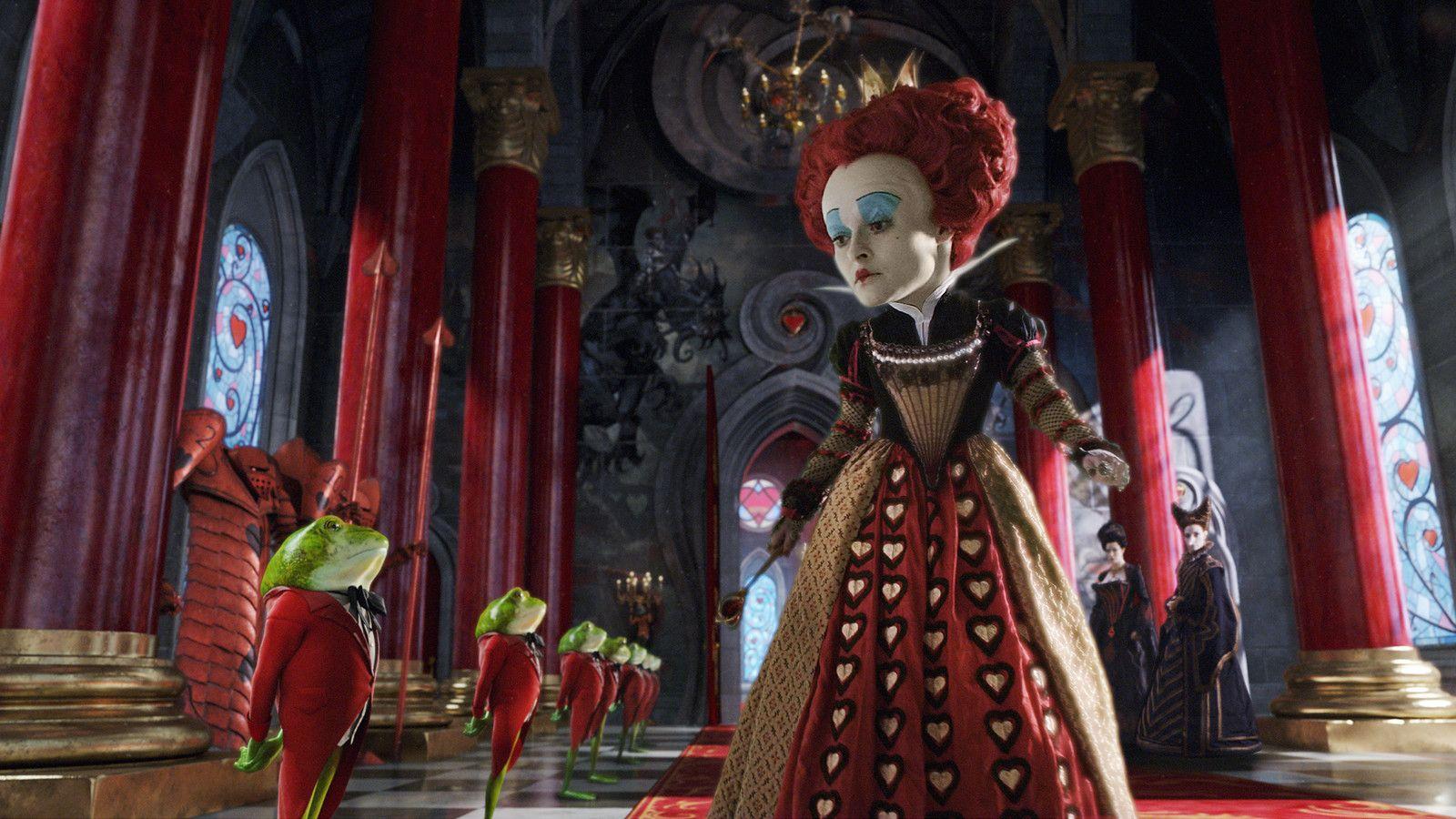Алиса в стране чудес картинки королевы