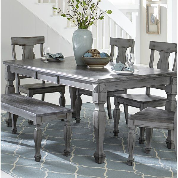 Julianna Extendable Solid Wood Dining Table Wood Dining Table