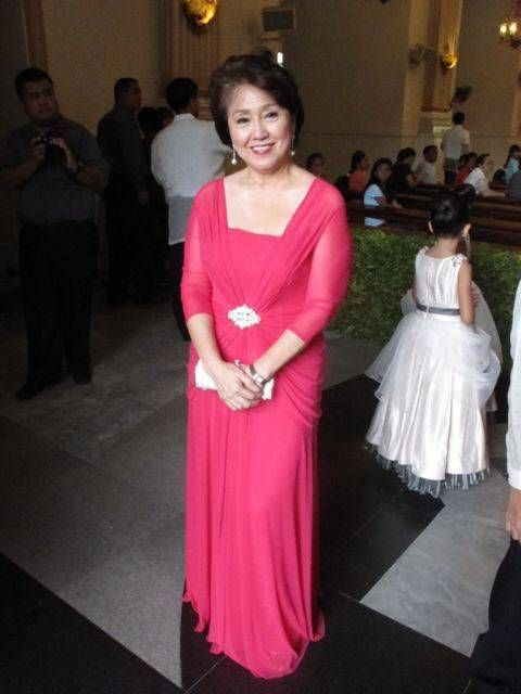 Wedding Dresses For Ninang : My beautiful mother was the ninang gown for mom