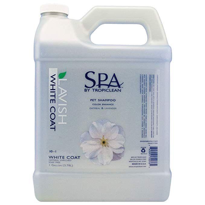 Tropiclean SPA by White Coat Pet Shampoo Review Pet