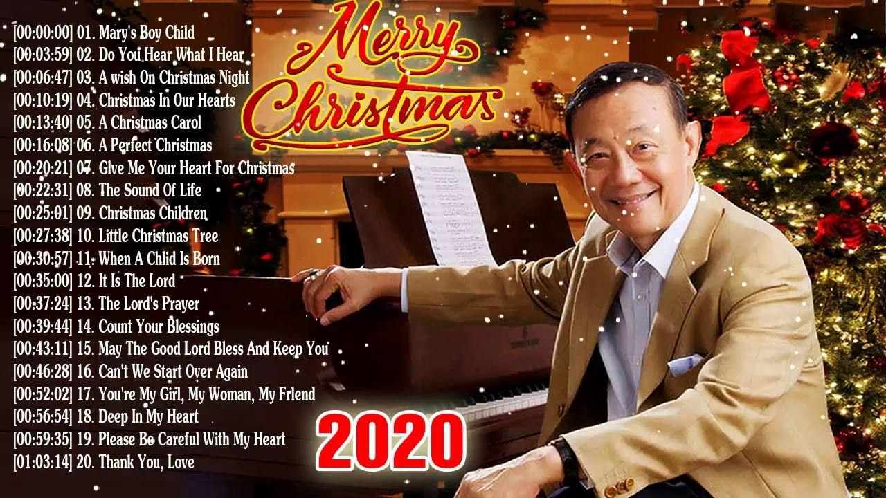 Jose Mari Chan Christmas Songs 2019🎄🎄Jose Mari Chan Best Album Christmas...   Songs, Youtube ...