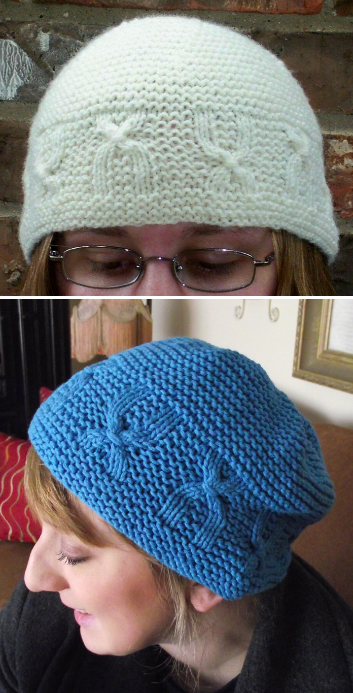 Free Knitting Pattern for Chromosome Cap - This beanie features ...
