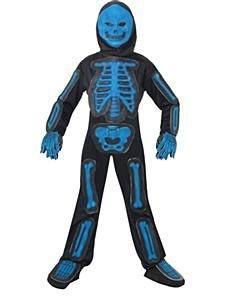 Blue Skeleton Jumpsuit Costume  sc 1 st  Pinterest & Blue Skeleton Jumpsuit Costume | Halloween | Pinterest | Skeletons ...