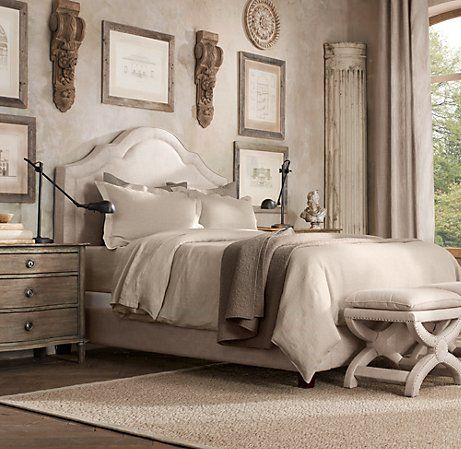 RESTORATION HARDWARE - Jameson Upholstered Bed | Upholstered Beds | Restoration Hardware