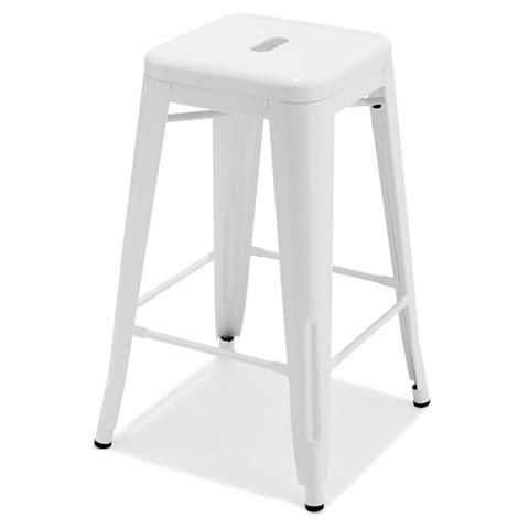 $29 Kmart bar stool white or black 650h x 410w mm  sc 1 st  Pinterest & $29 Kmart bar stool white or black 650h x 410w mm | cafe style ... islam-shia.org