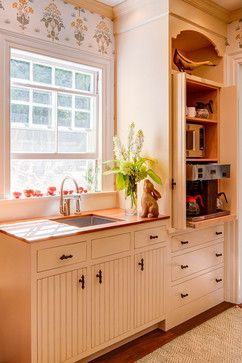 Island Estate - traditional - kitchen - portland maine - Catherine ...