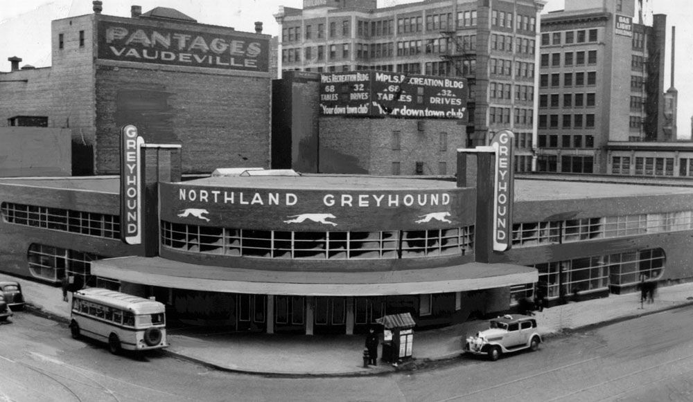 Vintage greyhound station in mpls home sweet home for Commonwealth motors richmond virginia