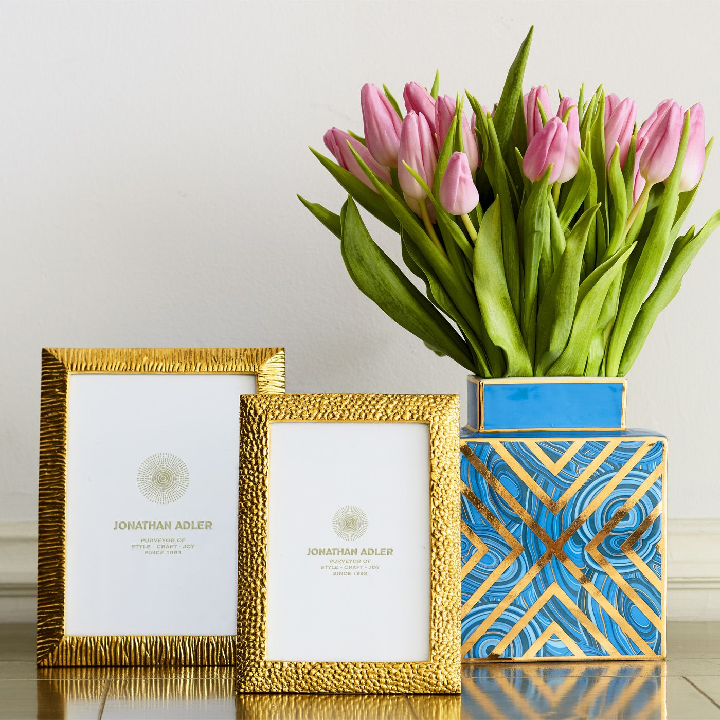 Jonathan Adler Picture Frames - Textured Brass Frame | Gifts for Her ...