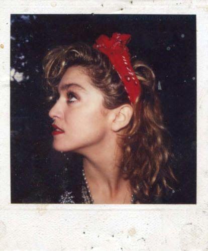 Madonna polaroid