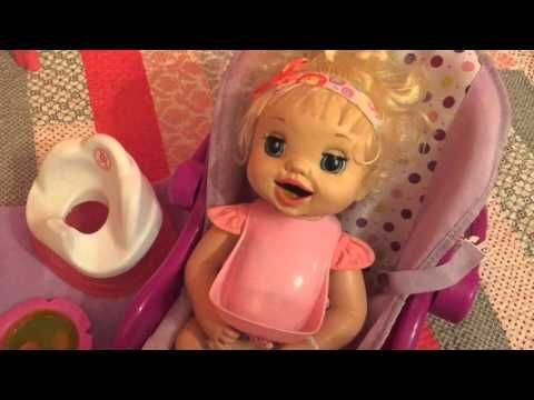Unboxing Baby Alive Learns To Potty 2007 And Feeding Youtube Videos Baby Alive Dolls Baby Alive Baby