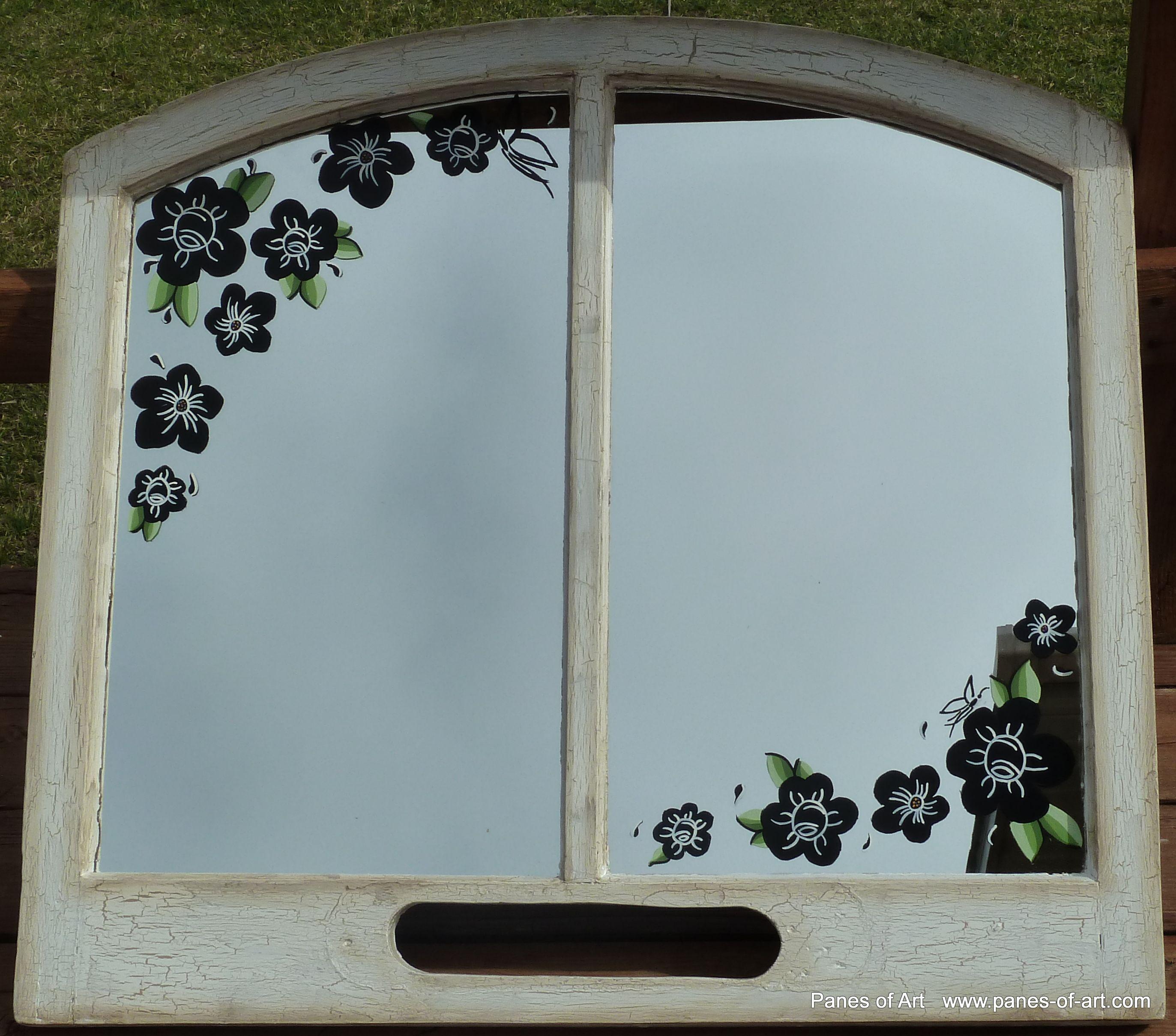 Window pane decor panes of art by michele l mueller window pane art nesofart