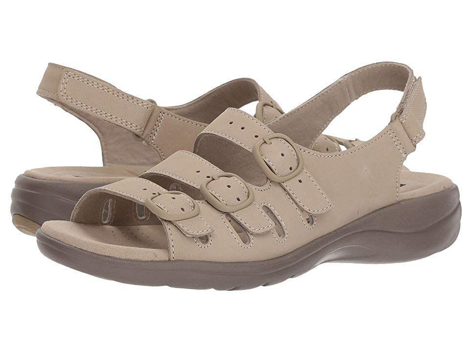 Clarks Saylie Quartz Women S Sandals Sand Nubuck In 2019