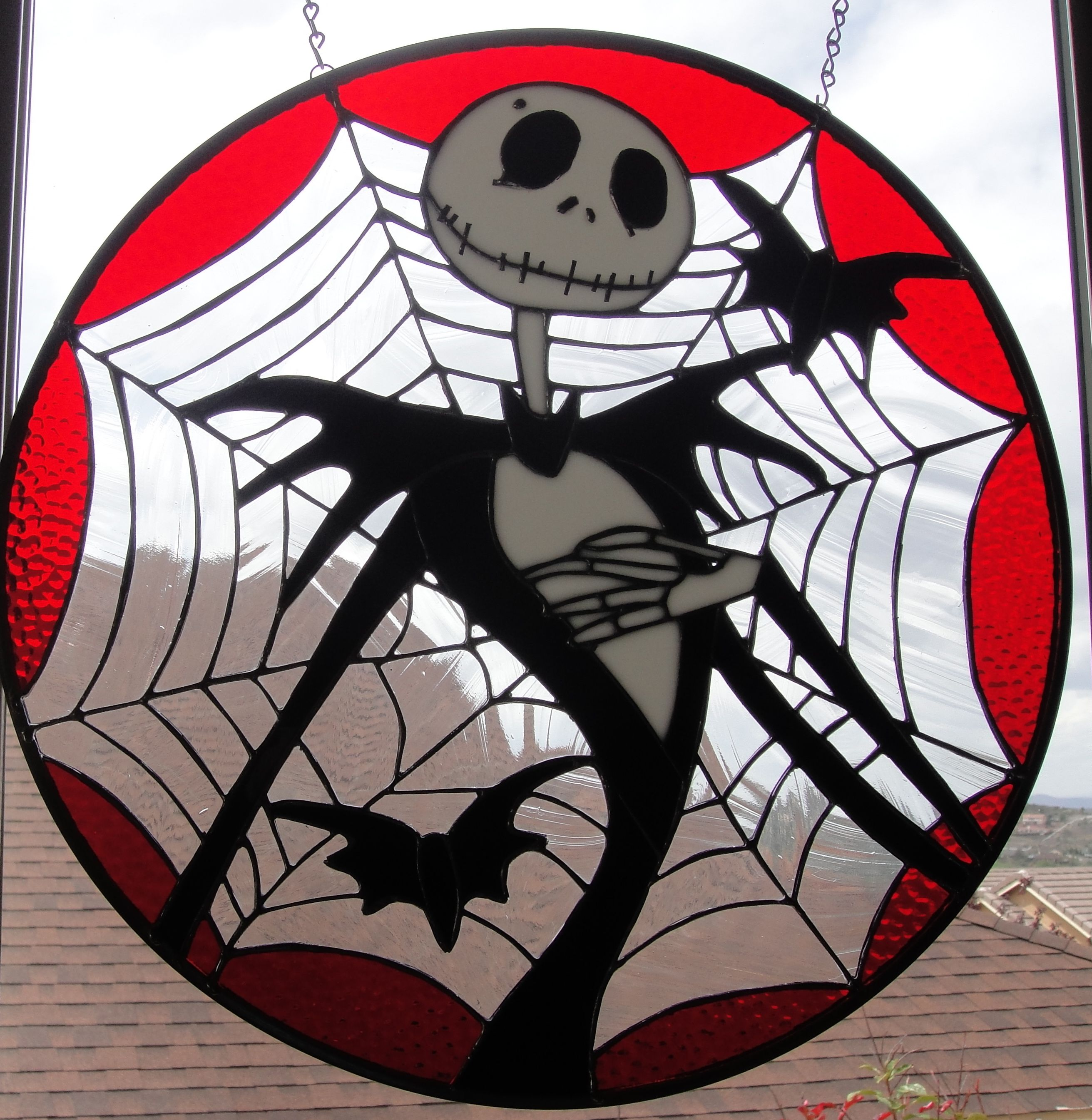 Nightmare Before Christmas - Jack Skellington | stained glass ideas ...