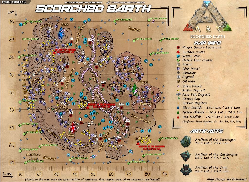 Interior ark ragnarok spawn map 4k pictures 4k pictures full hq steam community guide en ark graphical cheat sheets for for more detailed resource map go here link ark gamepedia com ark ragnarok griffin spawn locations malvernweather Gallery