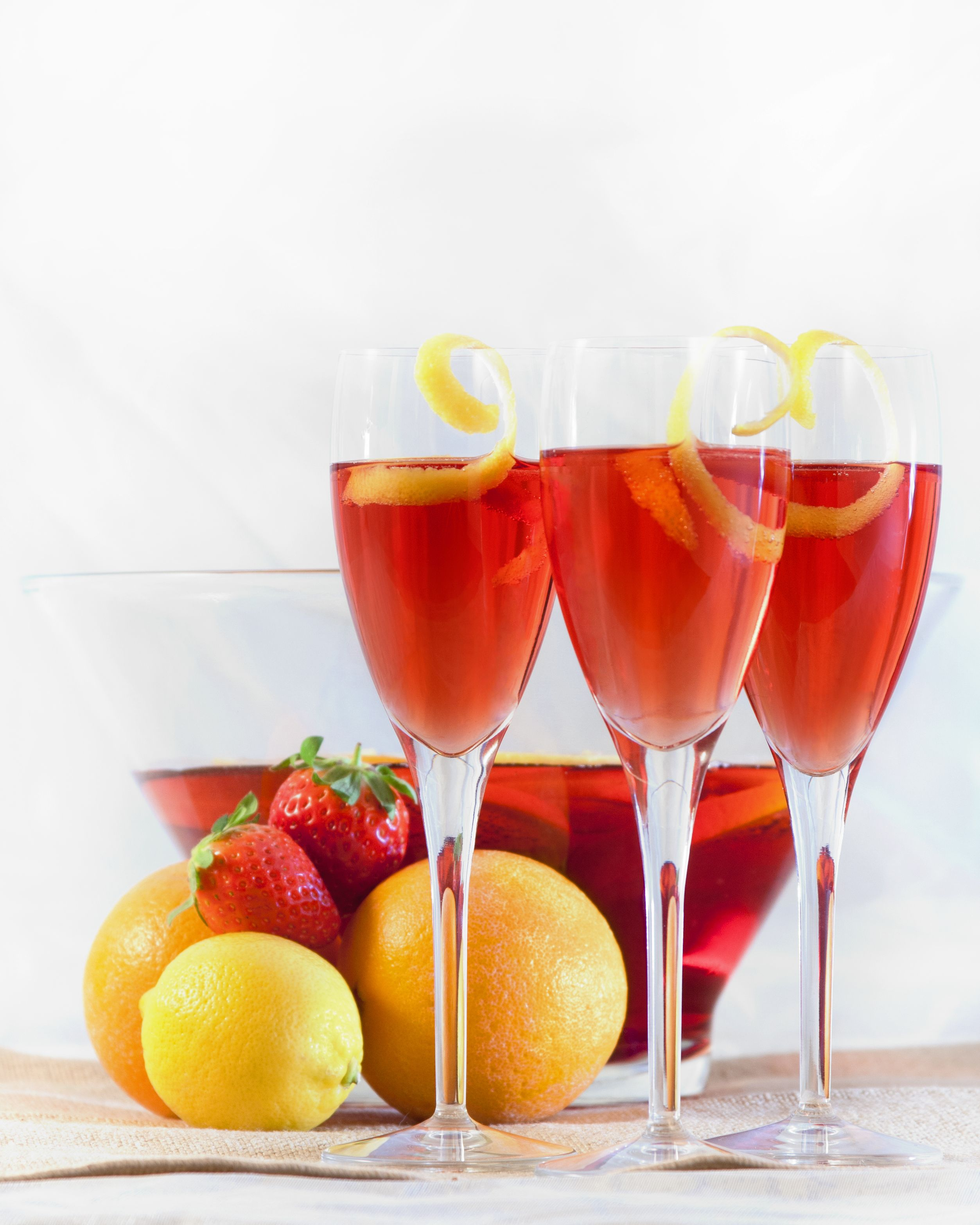 Add A Little St Germain To Your Champagne Punch And Celebrate In Style At Your Next Party Champagne Punch Recipes Champagne Punch Punch Recipes