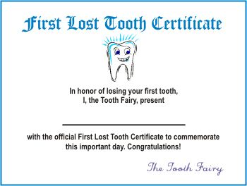 Tooth fairy certificate kids stuff pinterest tooth for Free printable tooth fairy letter template