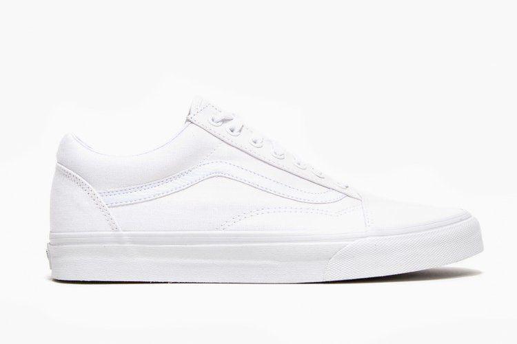 Whiteout Vans Old Skool White Vans Shoes Vans Old Skool Old