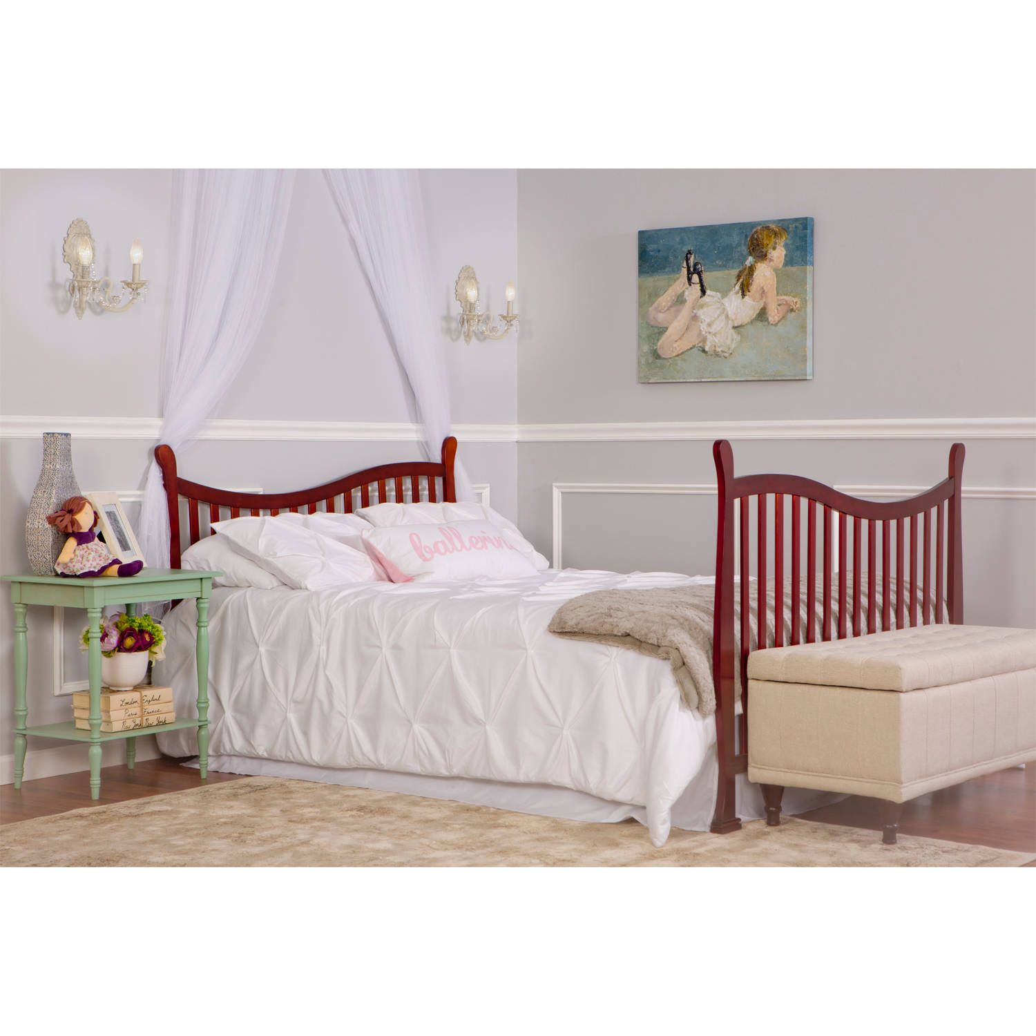 Dream On Me Violet 7in1 Convertible Crib Black Ad