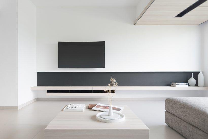 S Apartment Modern Minimalist Living Room Apartment Living Room Minimalist Living Room Design